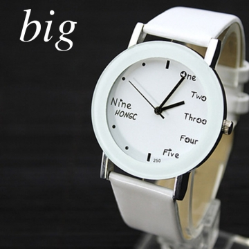 YAZOLE Women Quartz Watches Fashion Flower Leather straps Wrist Watch Ladies Rhinestone watch white and white1