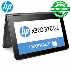 Refurbished Hp 310 G2 x360 Touchscreen Laptop l Intel Celeron N3050 l 4gb Ram l 128gb SSD l 11.6 Inch [Free Wireless Rechargeable Mouse] Black 11.6 Inch