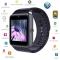 "1.54"" GT08 Bluetooth Smart Watch NFC Wrist Phone Mate For Smartphone Black 27cm"