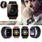 "1.54"" GT08 Bluetooth Smart Watch NFC Wrist Phone Mate For Smartphone Black&Silver 27cm"