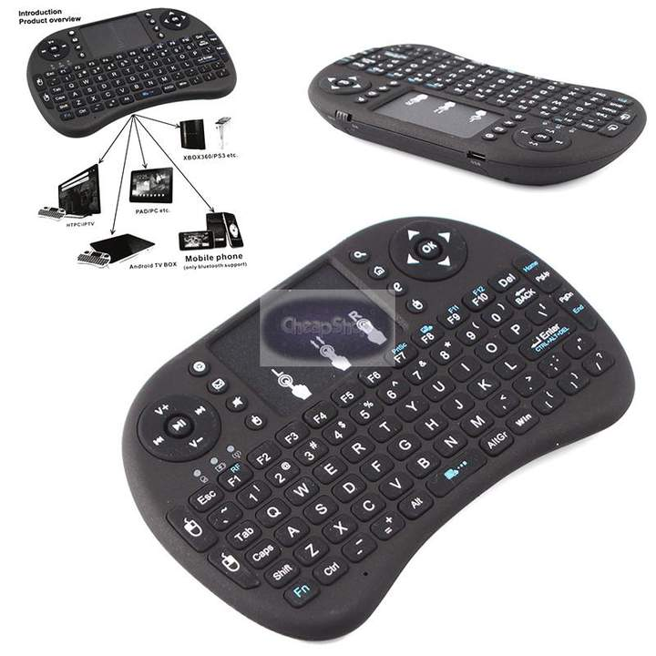 2.4G Air Mouse Wireless Keyboard Remote Control for XBMC TV Box Android PC DEFAULT 14.7x9.9x2.