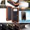 20000mAh Dual USB Power Bank Portable Solar Waterproof External Battery Charger Black 20000mAh
