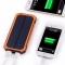 20000mAh Dual USB Power Bank Portable Solar Waterproof External Battery Charger Orange 20000mAh