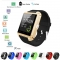 U8 Bluetooth Smart Wrist Watch Phone Mate For IOS Android iPhone Samsung HTC LG Gold Normal