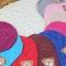 Warm Cotton Newborn Baby Girls Bear Hat Crochet Baby Boy Caps Cute Boys Girls Accessories Gray one size
