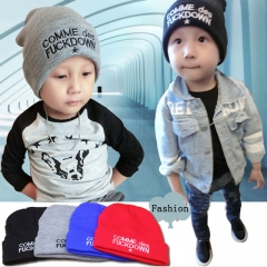 Warm Cotton Newborn Baby Girl Hat Knitted Wool Baby Boy Caps Cute Boy Girl Accessories Blue One Size red