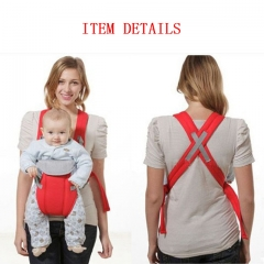 High Quality Ergonomic Baby Carrier Breathable Multifunctional Front Facing Comfortable Sling Infant Blue One Size