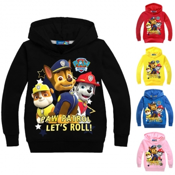 Fashion Cotton Long Sleeve Sweatshirts Zipper Coat Printed Kids Jackets Hooded Children's Clothing yellow 140cm