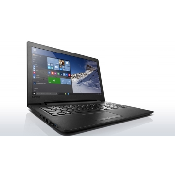 "Lenovo Ideapad (110-151BR) Laptop- 15.6"" - Intel Celeron - 500GB HDD - 4GB RAM - OS Not Installed black 15.6"