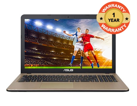 "ASUS X540N-GQ017 - 15.6"" - Intel Celeron - 500GB HDD - 4GB RAM black 15.6"