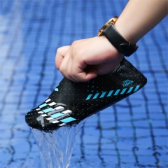 Aqua Water Shoes Swimming For Women Men Wading Shoe Slimming  Water Shoes Sandals Sport Male Gym blue/black s(22.5-23.0cm)