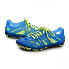 Men Summer New Beach Aqua Shoes Chaussure Soft Outdoor Wading Beach Shoes Lovers Sneakers Aqua Shoes blue us8(25.0cm)