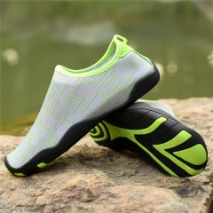 Water Shoes Swimming For Women Men Wading Shoe Slimming  Water Shoes Sandals Sport Male Gym Green US3(22.5cm)