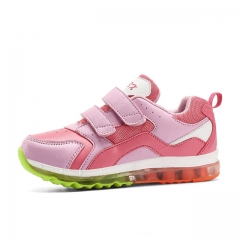 summer new childrens shoes breathable mesh upper sneakers boys and girls pink us9.5(157mm)