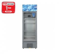 Von Hotpoint HPBC158W Vertical Cooler Silver 5.6 CuFt, 158L
