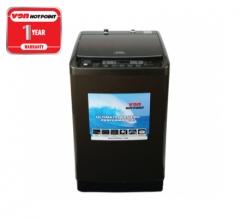 Von Hotpoint Washing Machine HWT-8082K Top Load - Black, 10 Kg Capacity