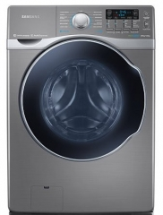 Samsung Front Load Washer Dryer (WD18H7300KP) - Silver, 18/10 Kg Capacity