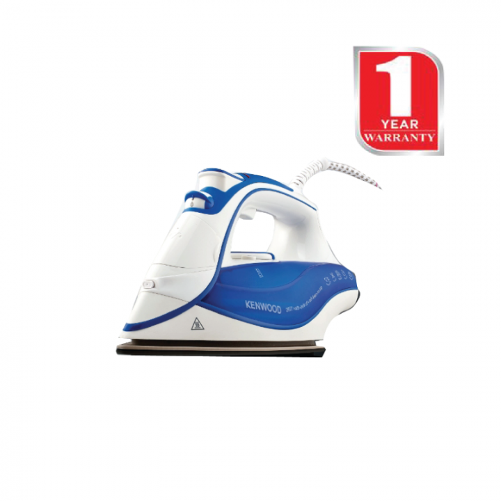 KENWOOD Steam Iron Box (ISP100BL) - White & Blue