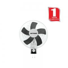 Von Hotpoint Wall fan 16 Inch Grill 60 Watts (HFW660G)  - Grey