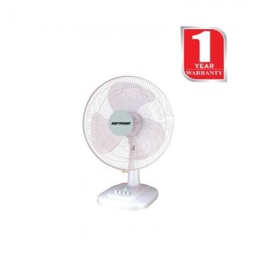 Von Hotpoint Table Top Fan (HFT241U) 40 Watts - White
