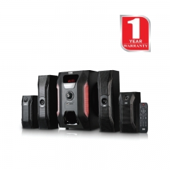 Von Hotpoint Subwoofer (HA18040BT)  4.1 Channel Bluetooth Black