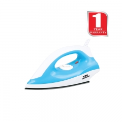 Von Hotpoint Dry Iron Box (HDI1104SB) 1000Watts White & Blue
