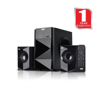 Von Hotpoint Bluetooth 2.1 Channel Subwoofer (HA5030BT)  - Black