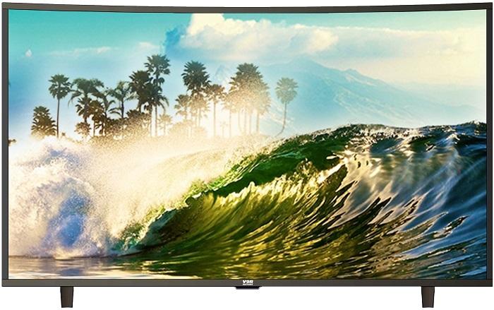 "VON L49T100CA - 49"" - Smart Curved Full HD LED TV - Black 49 inch"