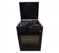 VON 7312NEB Cooker 3 Gas +1 Electric 60CM