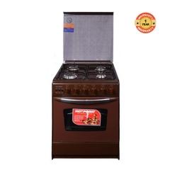 C5555EN/SN/VAC5U340RB 4 Gas Cooker Oven  Grill Rotisserie - Brown