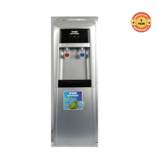 HWDZ2110SB -33 Hot & Cold Water Dispenser - Electronic Cooling with Storage Cabinet