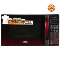HMS-202DB - Digital Control Panel Solo Microwave - 20L Red 20L 2500 watts