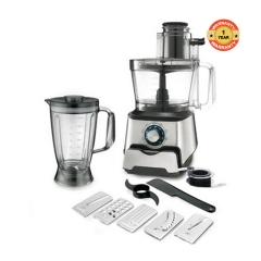HP3100X Food Processor - 1000W Inox