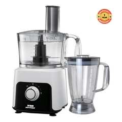 5 in 1 Food Processor - 500W white