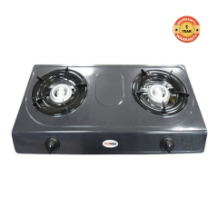 Von Hotpoint HPTT2012T Table Top Two burner Gas Cooker - Teflon