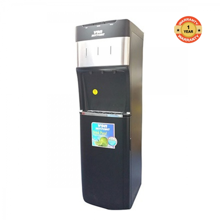 HWDZ2220SB - Water Dispenser - Comp.Cooling F/S W/Fridge