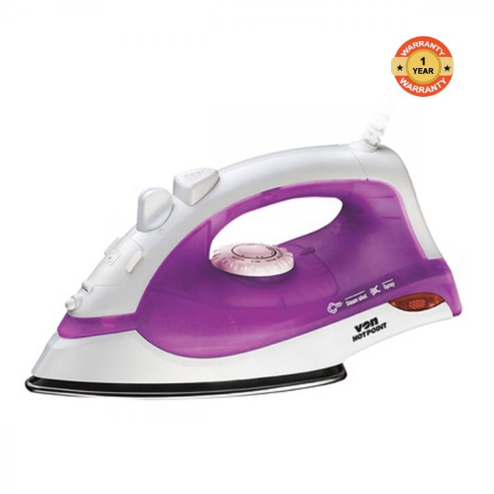 Von Hotpoint HSI2144SV/VSIS14MSV Steam Iron Box - 1400W violet