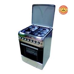 F6S40E2.I.E/VAC6F440EX - 4 Gas Cooker - 60cm x 60cm - Stainless Steel
