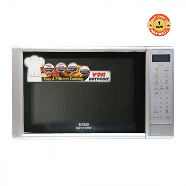 HMG-210DS - Digital Microwave Oven Grill - 20L silver 20l 800W