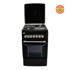 F5N31E2.BLK.E/VAC5F031PK - 3 Gas  1 Electric Cooker - Black