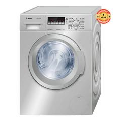 WAK2427SZA - Front Load Washing Machine - 7kg silver 7kg