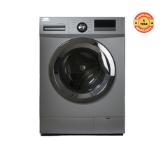 HWF-708S - Front Load Washing Machine - 7KG + FREE 2KG ARIEL DETERGENT & 1L DOWNY SOFTENER silver 7kg