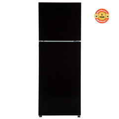 Von VART-39NHK Fridge, Top Mount Freezer black 258l