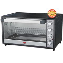 VON HO2045B Toaster Oven 45L, 2000W - Rotisserie black 45litres 2000 watts