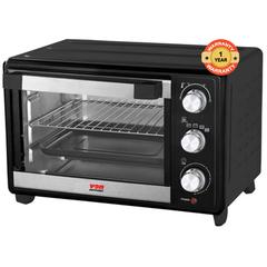 VON HO1632B Toaster Oven 32L, 1600W - Rotisserie black 32 litres, 1600 watts