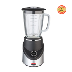 Von VSBT05MNK Blender, 1.5L Glass Jar, 500W black