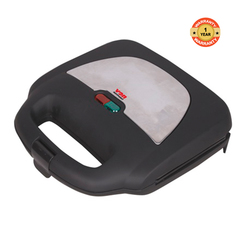 Von VSSP2GMCX 2 Slice Sandwich Maker, Grill stainless steel