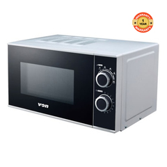 VON VAMS-20MGS Microwave Oven, Solo, 20L Mechanical silver 20ltrs .6 power levels