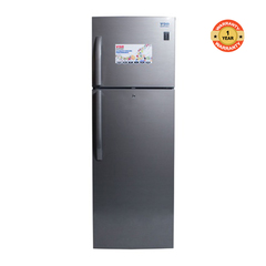Von Hotpoint HRN-312S/VART-31NHS Double Door Fridge 270L Non Frost, LVS, LED Dark silver 270litres