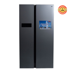 Von Hotpoint HRZ-207S/VARZ-25NSS Side By Side Fridge 482L No Frost, LED silver 482 litres